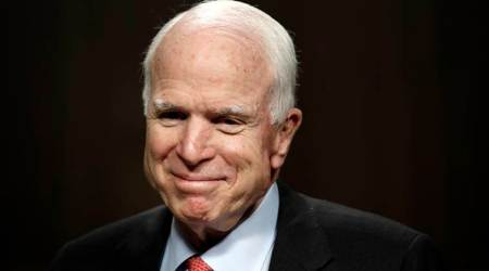 Republican Senator John McCain has brain tumour: Doctors