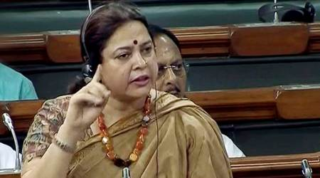 BJP MP Meenakshi Lekhi says cow urine helped a govt law officer recover from illness
