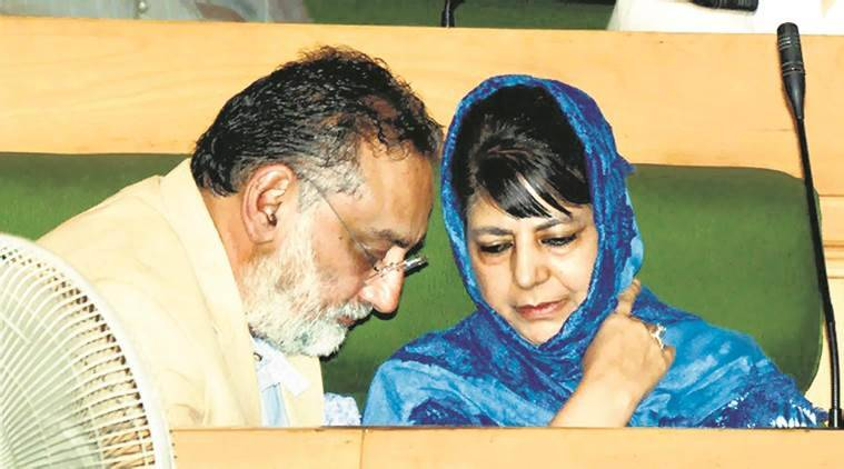 Mehbooba Mufti allots finance ministry to Altaf Bukhari