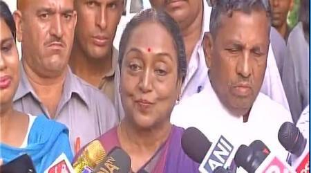 Meira Kumar congratulates President Ram Nath Kovind, says her battle for ideology will continue