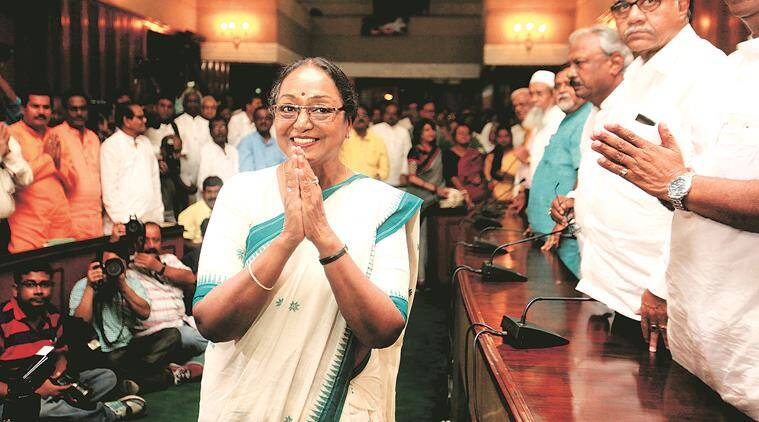 MLAs of Trinamool Congress (TMC) skipped the meeting with Meira Kumar