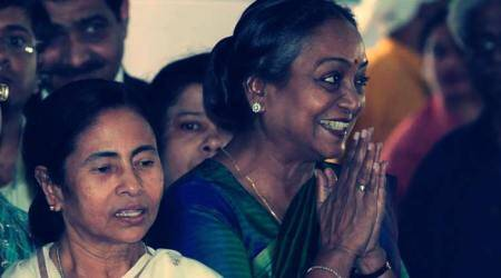 On the sidelines, Mamata Banerjee reaches out to Congress: field Meira Kumar from Bengal