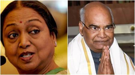 presidential election, Ram Nath Kovind, Meira Kumar, lowest vote share, president polls, voting, president election, Election Commission, Indian Express News