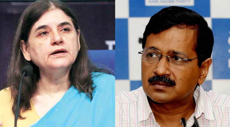 Maneka Gandhi, Arvind KEjriwal, Narendra Modi, Yogi ADITYANATH, iNDIA NEWS