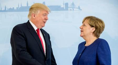 US isolated over climate, says G20 host Angela Merkel