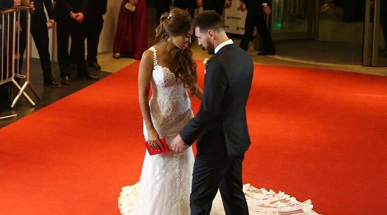 lionel messi, lionel messi wedding, messi marriage, messi wife, messi girlfriend, football news, sports news, indian express