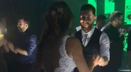 Lionel Messi's wedding dance with his bride will surely make your day, watch video