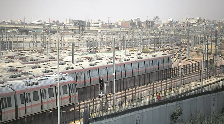 Staff threaten to bring Delhi Metro to a halt Monday