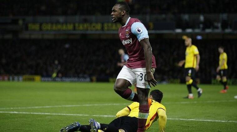 slaven bilic, west ham united, michail antonio, swansea city, michail antonio west ham, michail antonio football, football news, sports news, indian express