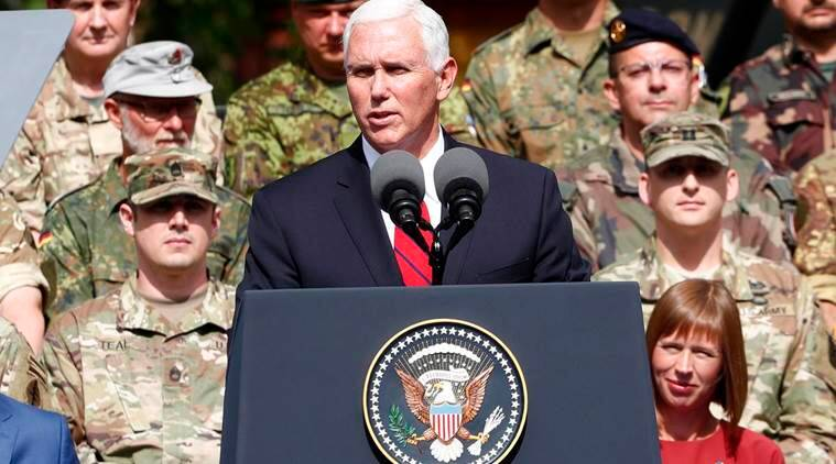 Charlottesville violence, Mike Pence on White supremacists, White supremacists,  Charlottesville violence Virginia, Donald Trump, Virginia Violence, white people violence, World News, Indian Express News