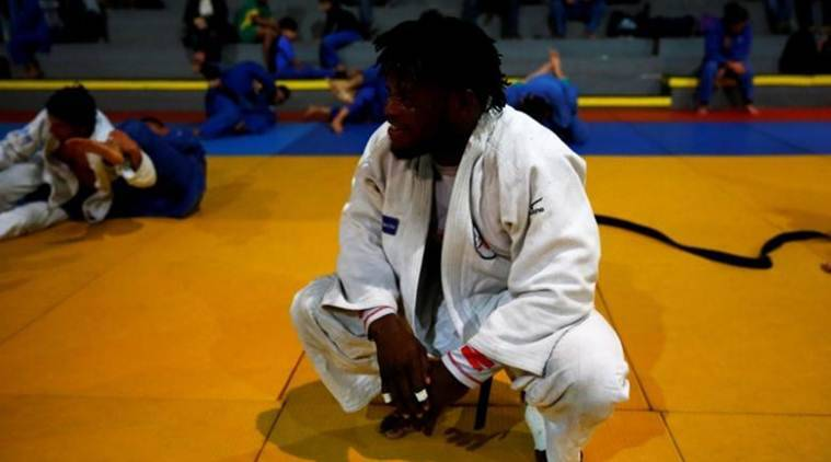 Olympics, Popole Misenga, Popole Misenga Judo, Popole Misenga MMA, Olympic news, sports news, indian express