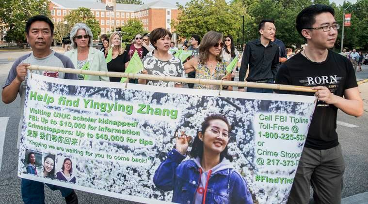 Chicago, University of Illinois, kidnapping, University of Illinois kidnapping, Yingying Zhang, Yingying Zhang missing, latest news, latest world news