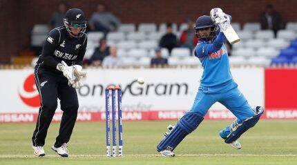 Mithali named captain of team of World Cup