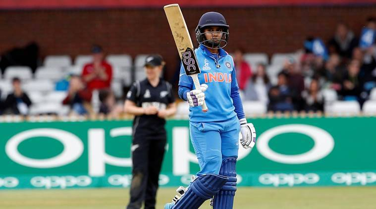 mithali raj, india vs new zealand, ind vs nz, icc women's world cup 2017