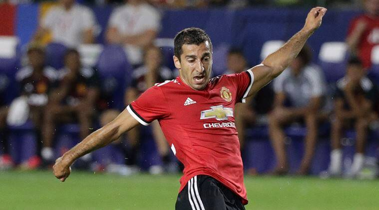 Henrikh Mkhitaryan, Jose Mourinho, Manchester United, Borussia Dortmund, Premier league, football news, sports news, indian express