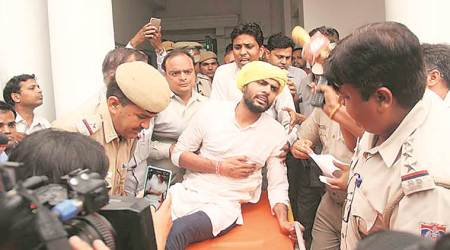 Men who threw pamphlets in House target 10 MLAs incourt
