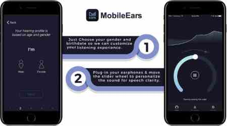 MobileEars, MobileEars mobile app, MobileEars hearing aid app, MobileEars app store