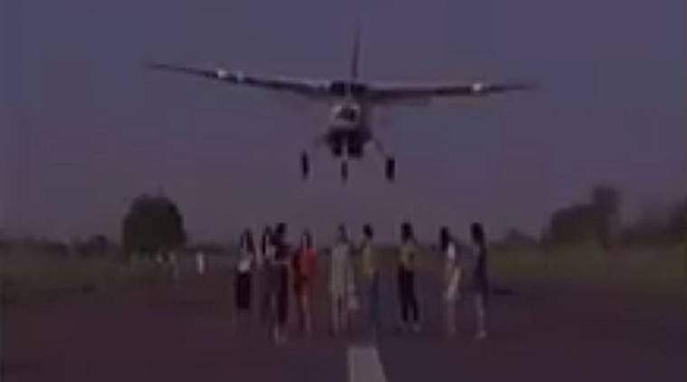 models on runway, models on airstripdgca action on model video, models on runway video, indian express news
