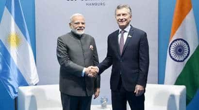 Hamburg handshakes: A look at PM Modi meeting world leaders at G20summit