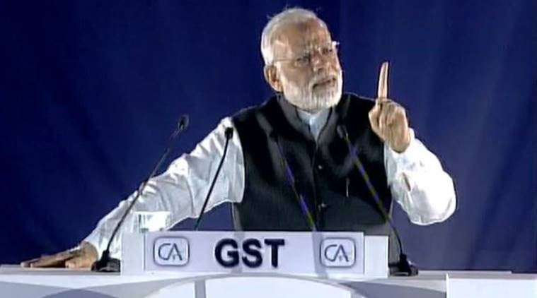 GST, Narendra Modi, ICAI, ICAI foundation, Modi at ICAI foundation, Goods and Services Tax (GST), Arun Jaitley, PM on corruption, India on corruption, PM modi on CA, chartered accountants' apex body ICAI, indian express news