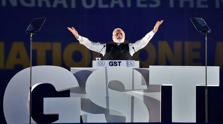 Narendra Modi, Modi on accounting firms, CA community, Foundation Day of ICAI, Institute of Chartered Accountants in India, Big 4 audit firms, KPMG, indian express news