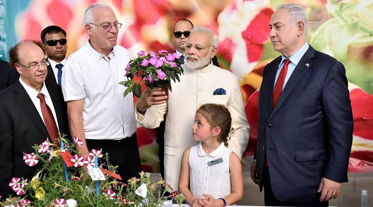 Narendra Modi First Indian Prime Minister to Visit Israel