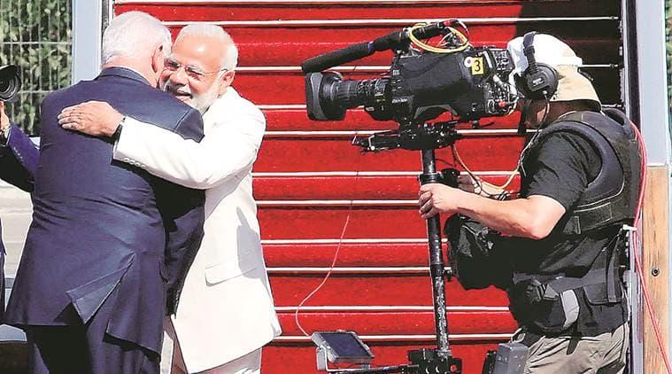 Modi's hugplomacy
