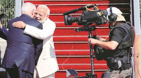 Congress' wisecrack on PM Modi's 'hugplomacy' leaves BJP enraged