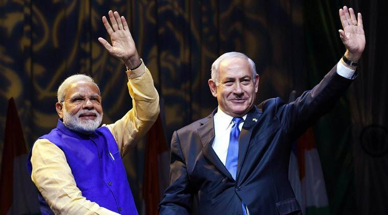 modi in israel, modi israel visit, narendra modi, benjamin netanyahu, reuven rivlin. israel, india israel relations, india isreal ties, india israel agreements, india israel history, latest news, india news, indian express news