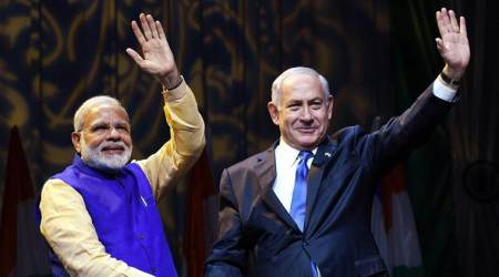 On hot mic, Israel PM caught talking about why Modi skipped Palestine