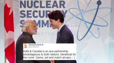 PM Narendra Modi's 'tennis volley' with Justin Trudeau is winning hearts on Twitter