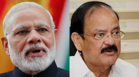 PM Modi calls up leaders seeking support for Vice-president nominee M. Venkaiah Naidu