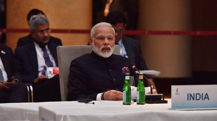 PM Narendra Modi, PM Modi, Modi-G20 SUMMIT, Modi-terrorism, india-pakistan, Modi slams Pakistan, BRICS summit, terrorism, terror groups, india news, indian express