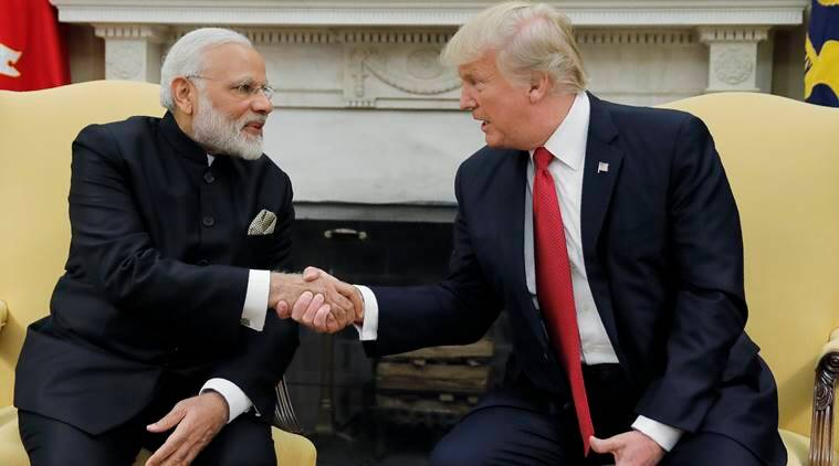 Donald Trump, PM Modi, india us, india us relations, bilateral ties, india us stratergic talk,modi government, terrorism, bilateral defence ties, indian express news, india news