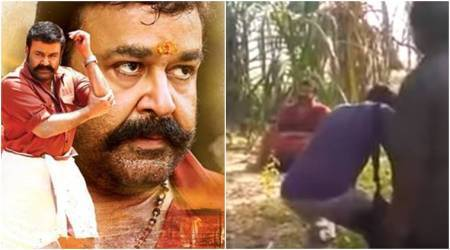 Velipadinte Pusthakam: Mohanlal couldn't stop himself from weeping on sets. Watch video