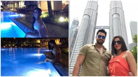 From bikinis to Twin Tower visit, here is what Mona Lisa is doing in Malaysia. See photos