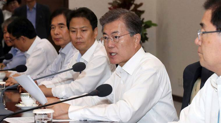 Moon Jae-in, winter Olympics, Pyeongchang, International Olympics Committee, olympics news, sports news, indian express