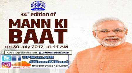 Mann ki Baat: PM Narendra Modi to address the nation at 11 am