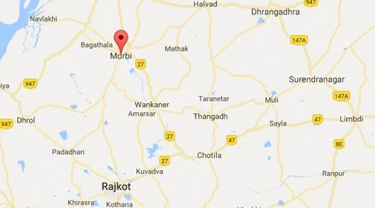Indrasinh Zala Murder Group Clash Leaves One Dead In Morbi The - Morvi map