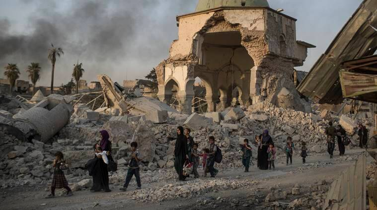 Battle for Mosul, Islamic State, ISIS, Iraq, iraqi soldiers, world news, indian express