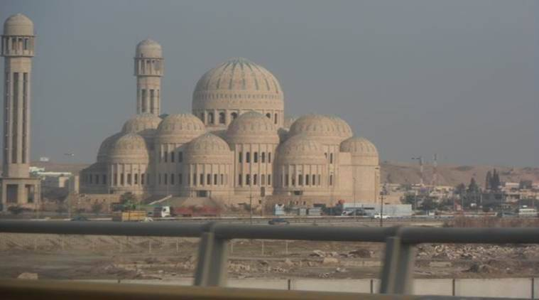 Mosul Mosque, Mosul ISIS, Mosul Mosque rubble, Indian express, India news, world news, latest news