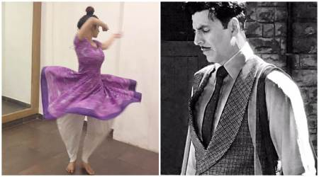 Mouni Roy begins shooting for Akshay Kumar film Gold and is doing a happy dance. See photo