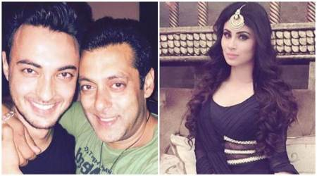 Naagin actor Mouni Roy set to romance Salman Khan's brother-in-law Aayush Sharma after Gold?