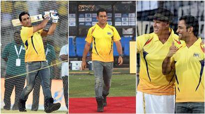 MS Dhoni returns to his 'second home' Chepauk in style, see pics