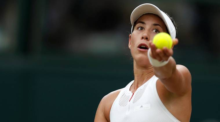 Wimbledon champion Muguruza has a 'love-hate relationship' with tennis