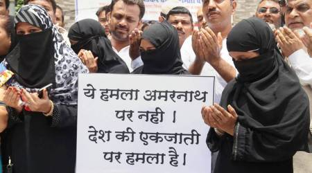 Amarnath Yatra attack, Mumbai protest, Amarnath protests, Azad Maidan protest, Not in my name protest