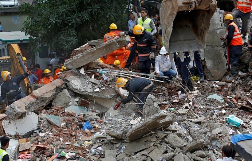 Image result for ghatkopar building collapse images
