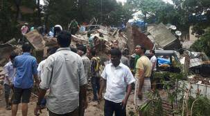 Mumbai: At least 8 dead, several injured as four-storeyed building collapses inGhatkopar