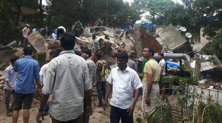 Mumbai: At least 4 dead, 30 trapped as four-storeyed building collapses in Ghatkopar