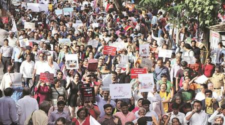 'Not In My Name' protest swells up in Mumbai